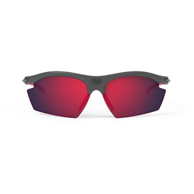 Rudy Project Rydon Okulary rowerowe, graphite - rp optics multilaser red